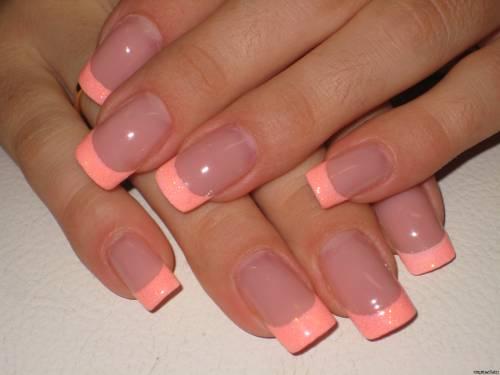 Фото маникюра нарощенные ногти